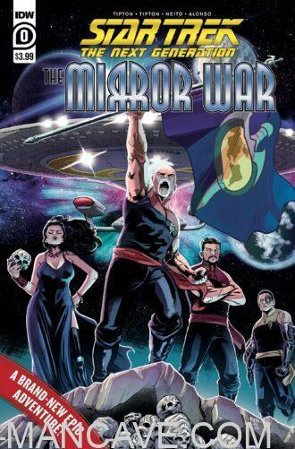 IDW - 2021 - STAR TREK - THE MIRROR WAR - not released yet...