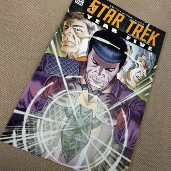 STAR TREK - YEAR FIVE #21 - IDW - 2021