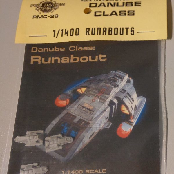 Danube Class Runabout  - 1:1400 - Federation Models - RMC-28