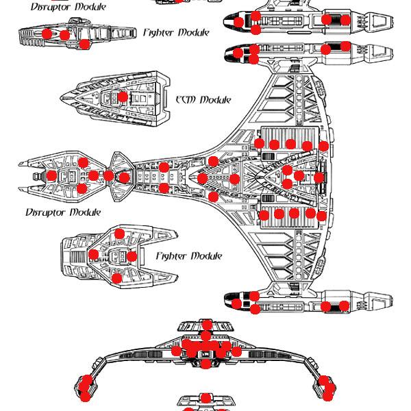 Vor'cha Class – Star Trek – Rebuild 05 – S2H